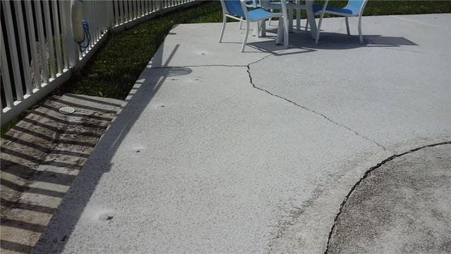 Pool Deck PolyLevel Lift in Atlantic Beach, Fl.