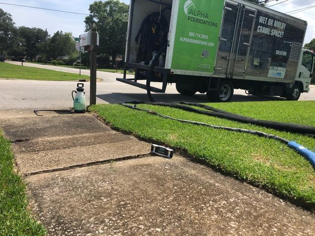 Sidewalk Repair in Tifton, GA