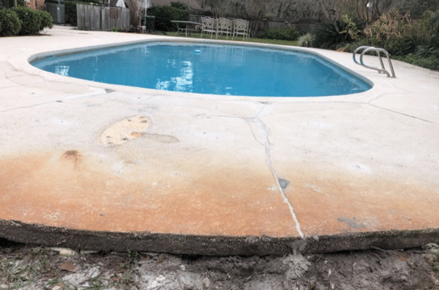 Pool Deck Repair in Douglas, GA - After Photo