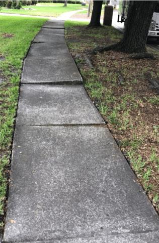 Sidewalk Repair in Glen Saint Mary, FL