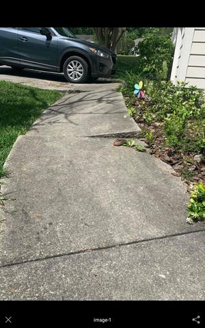 Sidewalk Fixed in Tallahassee, FL