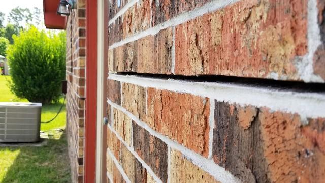 Stair-Step Crack Repair in Tallahassee, FL