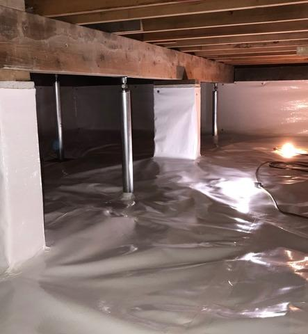 Crawl Space Repair Project in Jupiter, FL