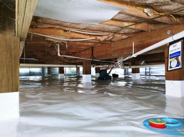 Crawl Space Encapsulation in Santa Rosa Beach, FL