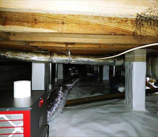 Crawl Space Repair in Chattahoochee, FL