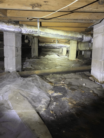 Crawl Space Repair in Chattahoochee, FL