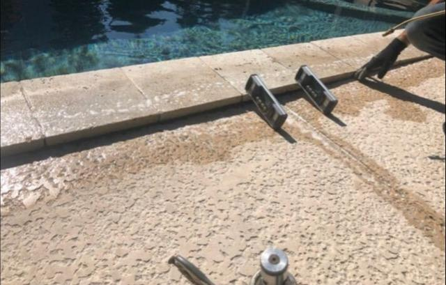 Pool Deck Repair in Saint Simmons Island