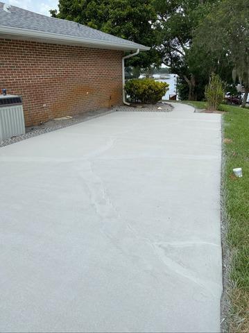 Driveway and Sidewalk Repair in Orlando, FL
