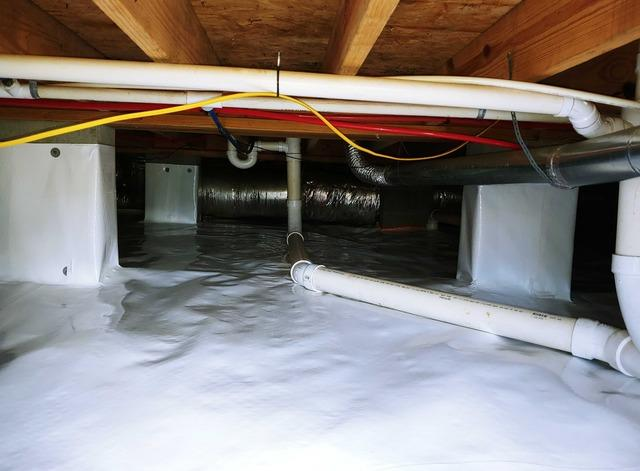 Crawl Space Encapsulation in Rebecca, FL - After Photo