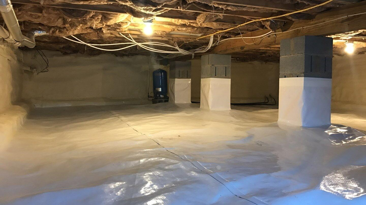 Crawlspace Insulation in Canadensis - After Photo