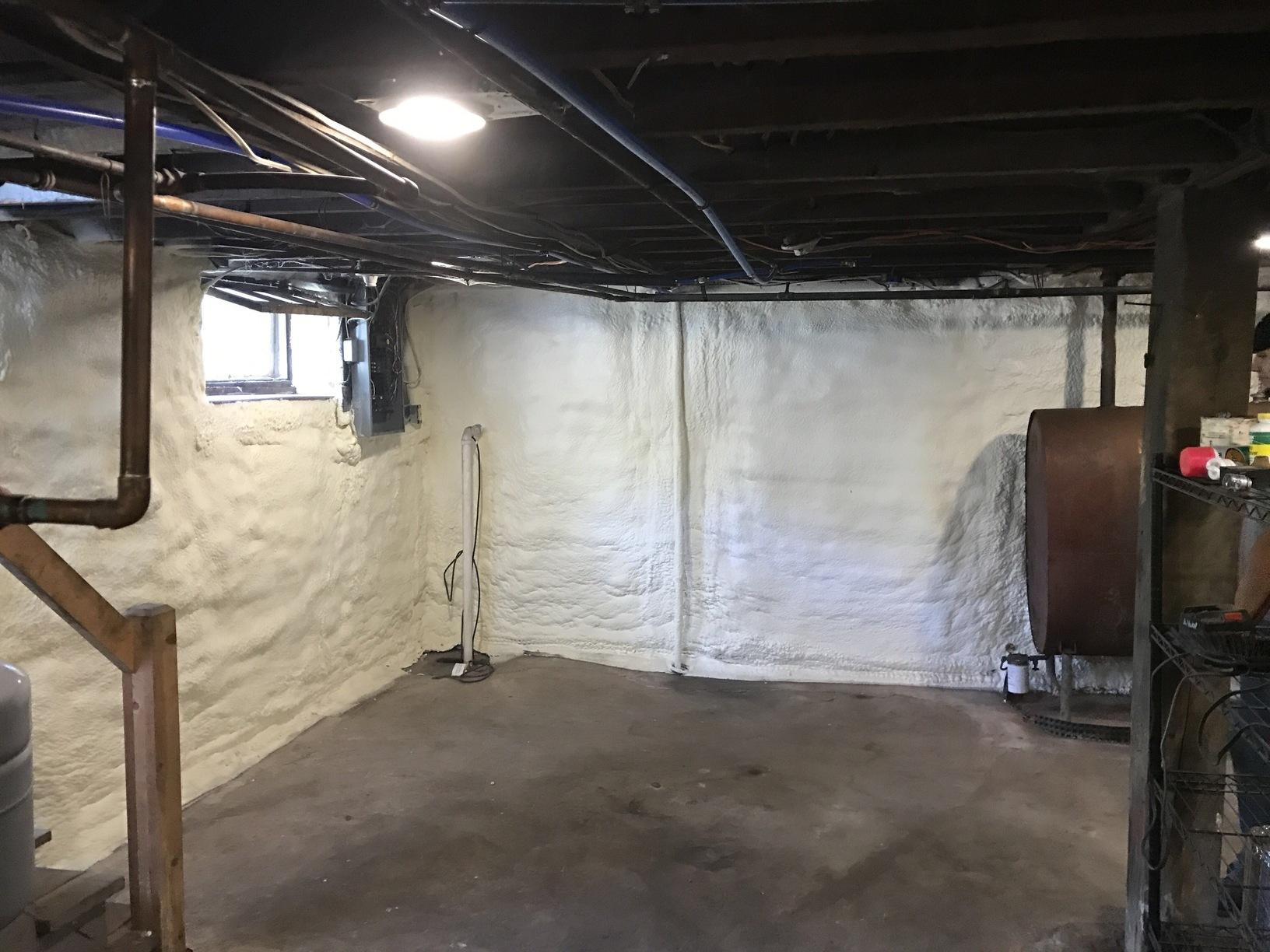 Spray Insulation- Tannersville, Pa - After Photo