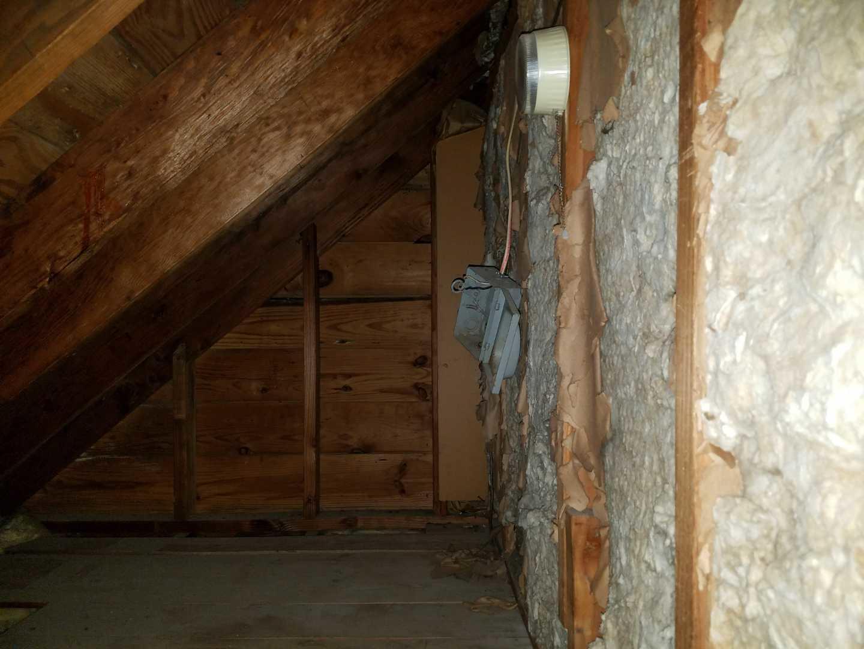 Insulating a Cape Cod Home Nazareth, PA - Before Photo