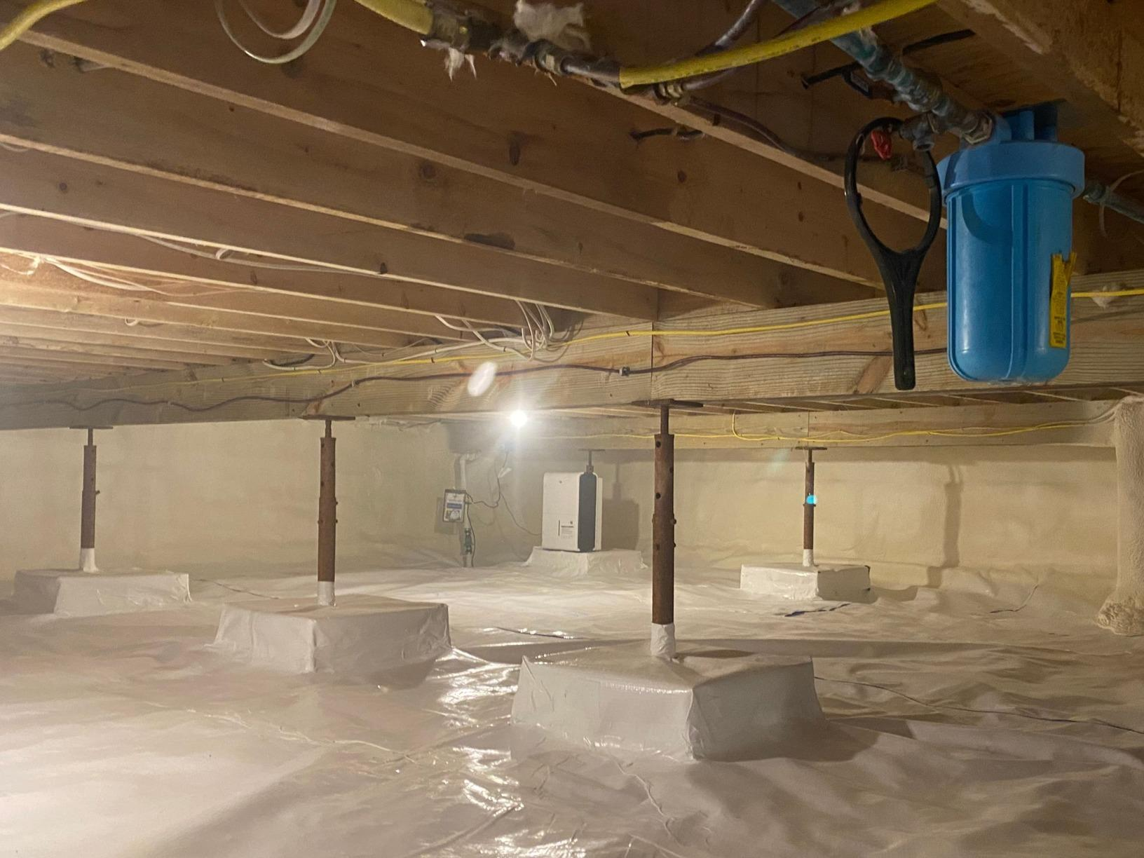 Crawlspace Repair- Hellertown, Pa - After Photo