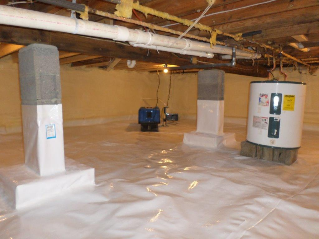 Arrowhead Lakes Crawlspace - After Photo