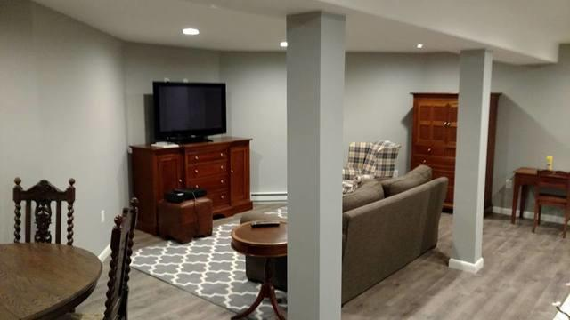 Finished Basement in Buck Hill