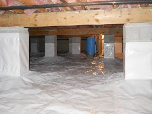 Crawlspace Repair- Lake Naomi, Pocono Pines, PA