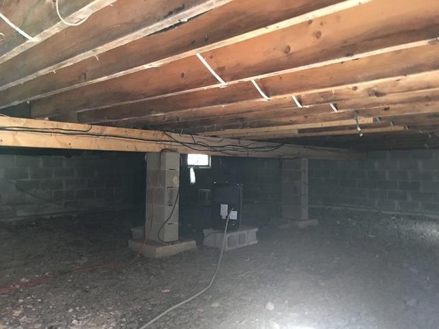 Crawlspace Encapsulation- Milford, Pa