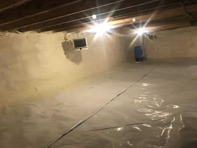 Crawlspace Insulation in Palmerton, NJ - After Photo