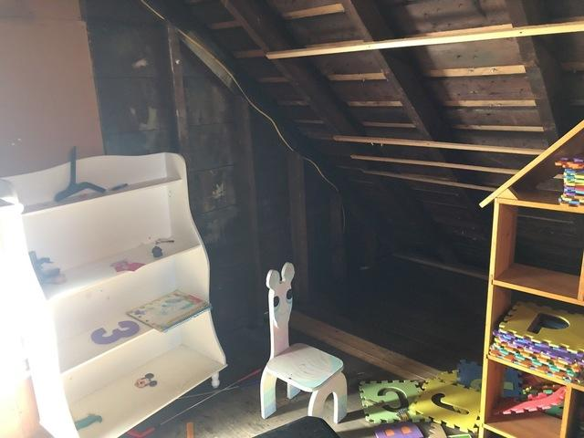 Attic Insulation- Moscow Pa - Before Photo