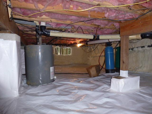 Stillwater Lakes Crawlspace