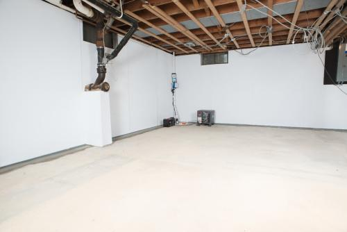 Basement Drainage Solutions - After Photo