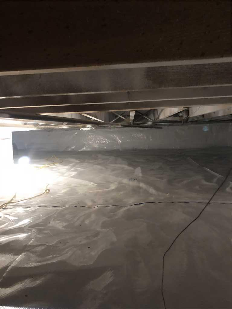 Dirty Crawlspace Gets a Face-lift in Memphis, TN - After Photo
