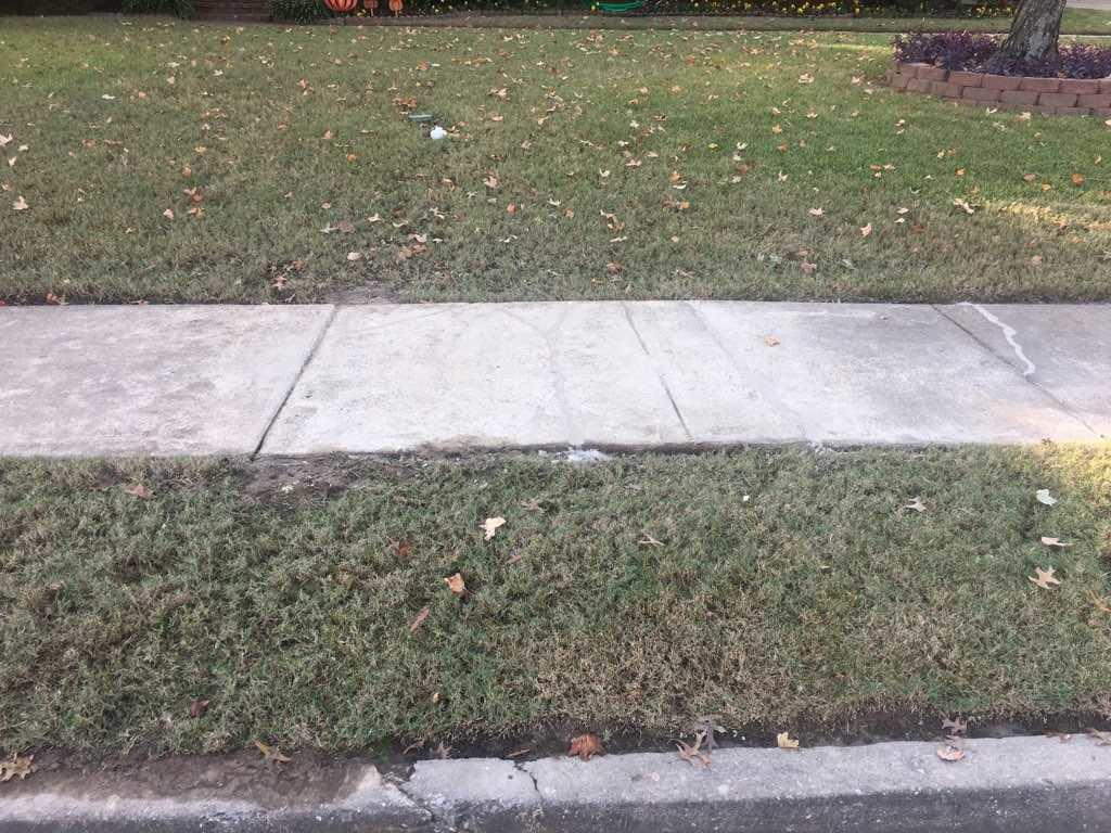 Sidewalk Facelift in Collierville, TN! - After Photo