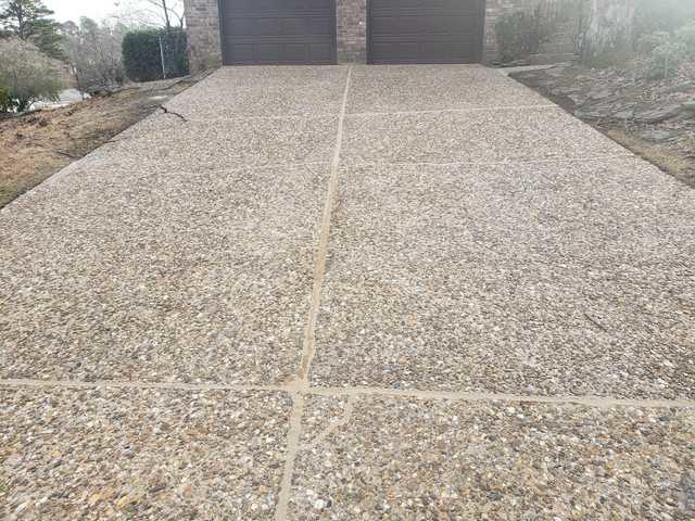 New Looking Concrete after NexusPro Injection - After Photo