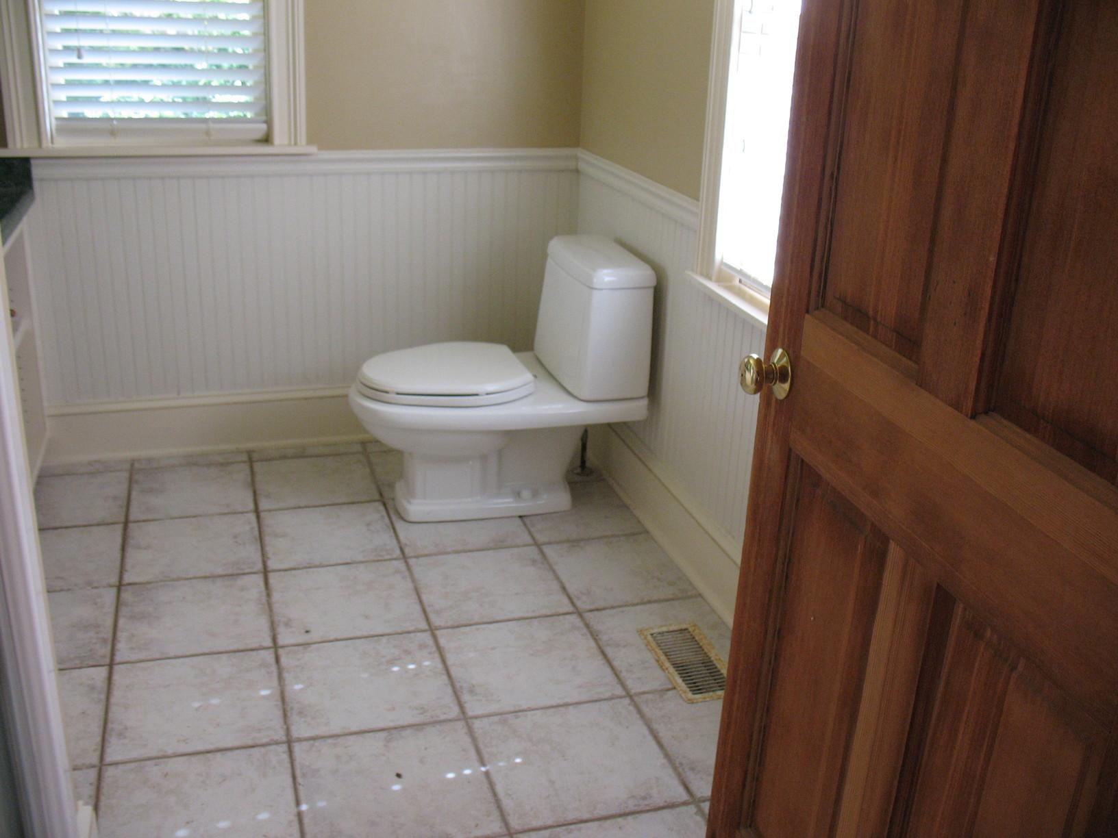 Historic Home bathroom repair - After Photo