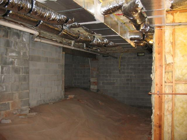 Crawl Space Encapsulation in Greenville, SC - Before Photo