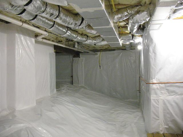 Crawl Space Encapsulation in Greenville, SC - After Photo
