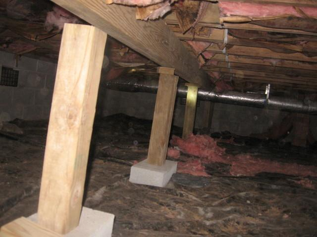 Crawl Space Before and After in South Carolina - Before Photo