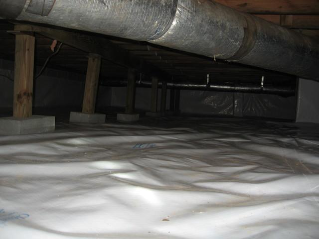 Crawl Space Before and After in South Carolina - After Photo