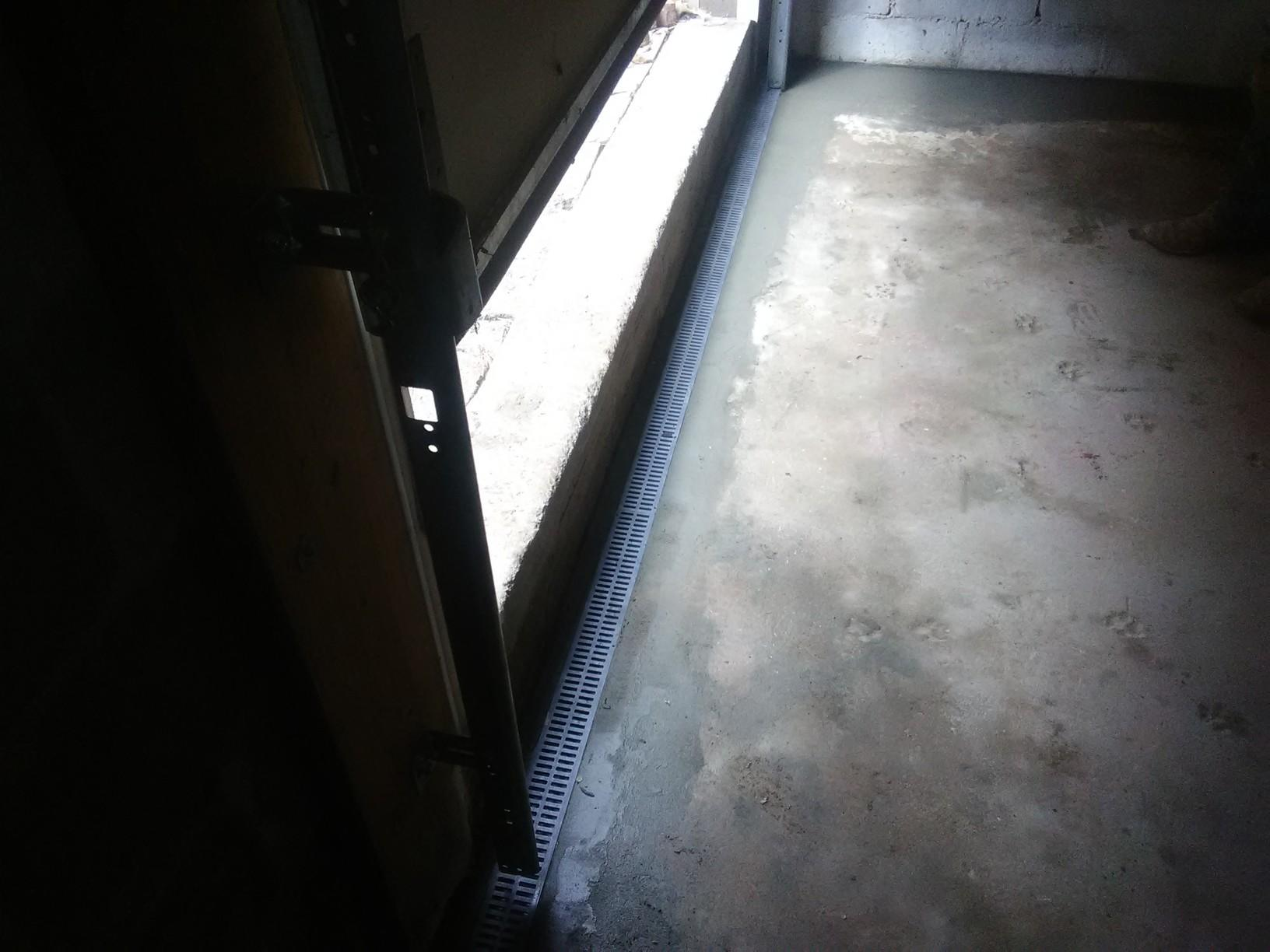 Trench Drain Installed in Little Rock, Arkansas Basement - After Photo