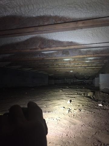 Dirt Crawl Space in West Helena, Arkansas