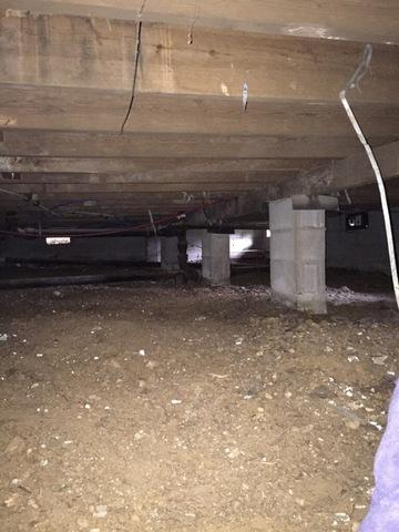 Mold Threatens Little Rock, AR Crawl Space