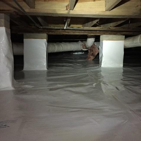 Crawl Space Encapsulation in Magnolia Arkansas