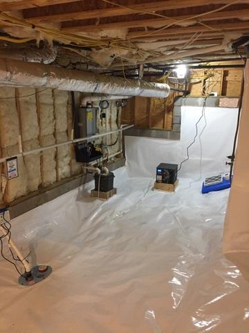 Crawl Space Repair in Little Rock Arkansas