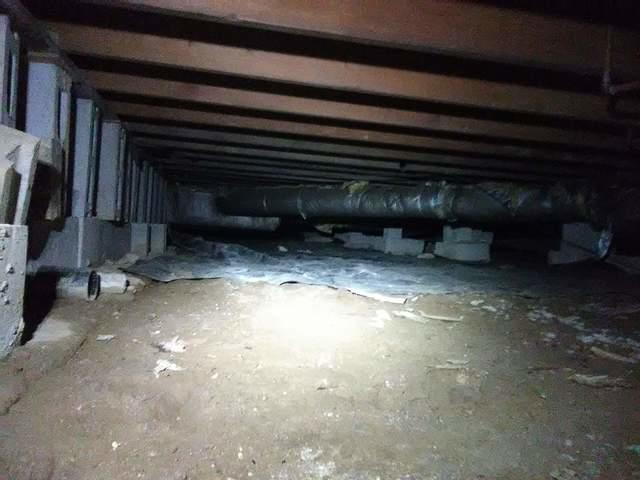 Rogers, Arkansas Home with High Humidity Due to Crawl Space