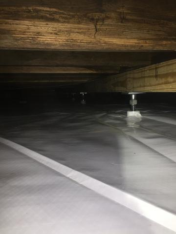 Wet Crawl Space in New Edinburg, Arkansas
