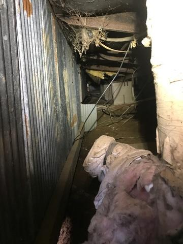 Nasty Crawl Space in Monticello, AR