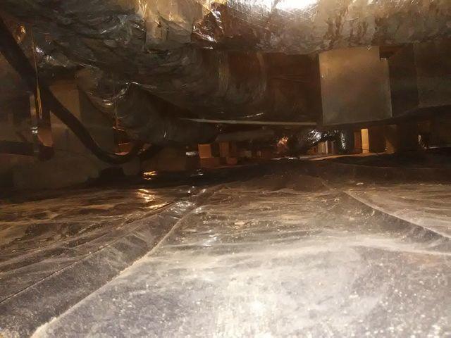 Wet Crawl Space in El Dorado, Arkansas