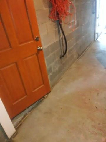 Trench Drain Installed in Little Rock, Arkansas Basement
