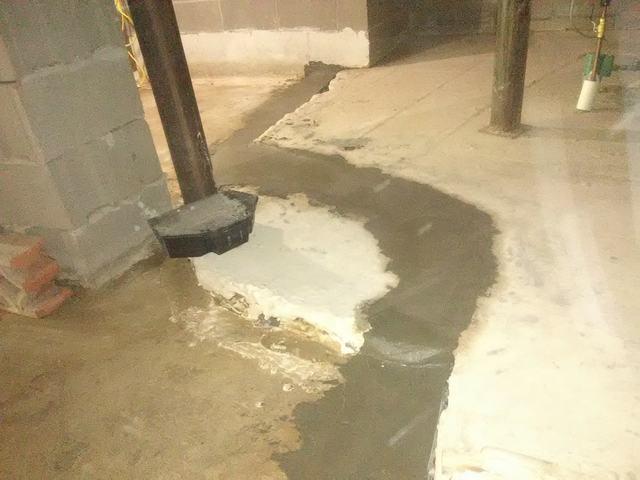 Wet Basement in Hot Springs, Arkansas