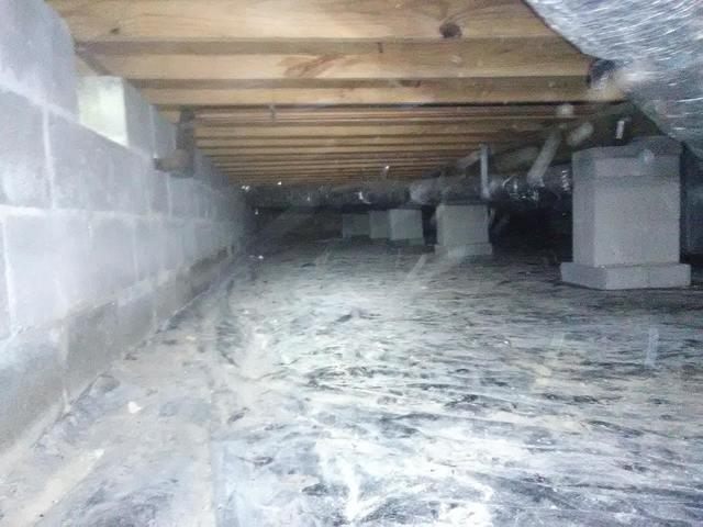 Crawl Space cleanup in Siloam Springs Arkansas