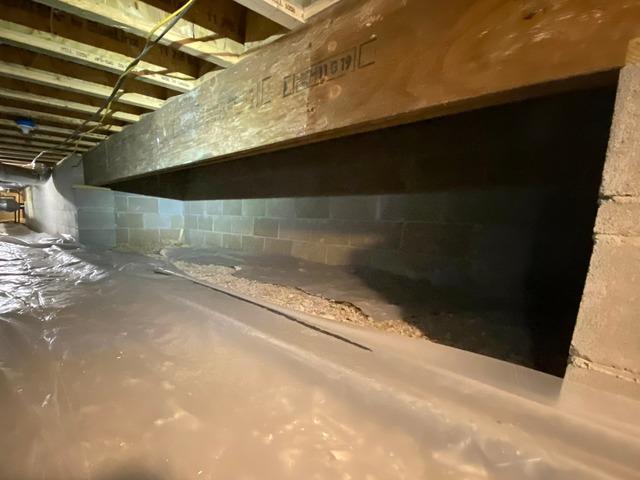 Crawl Space Upgrade in Hot Springs, AR