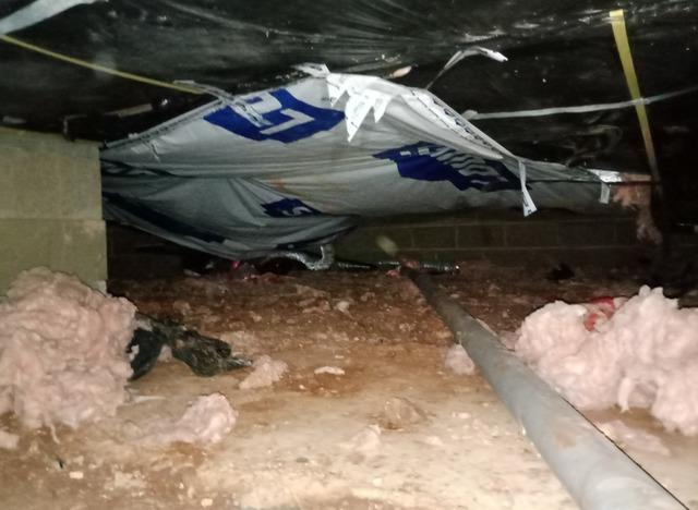 Crawl Space Clean Up in Rogers, Arkansas