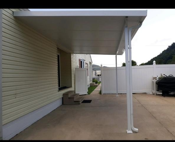 Beautiful New Patio Cover in Belle, WV