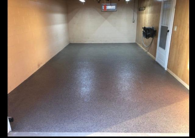 New SparTek Garage Floor in South Point, OH - After Photo