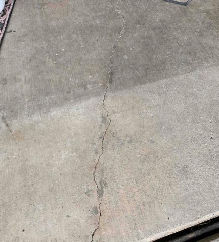 Beautiful New Garage Floor in Elkview, WV
